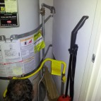 Installing a new water heater