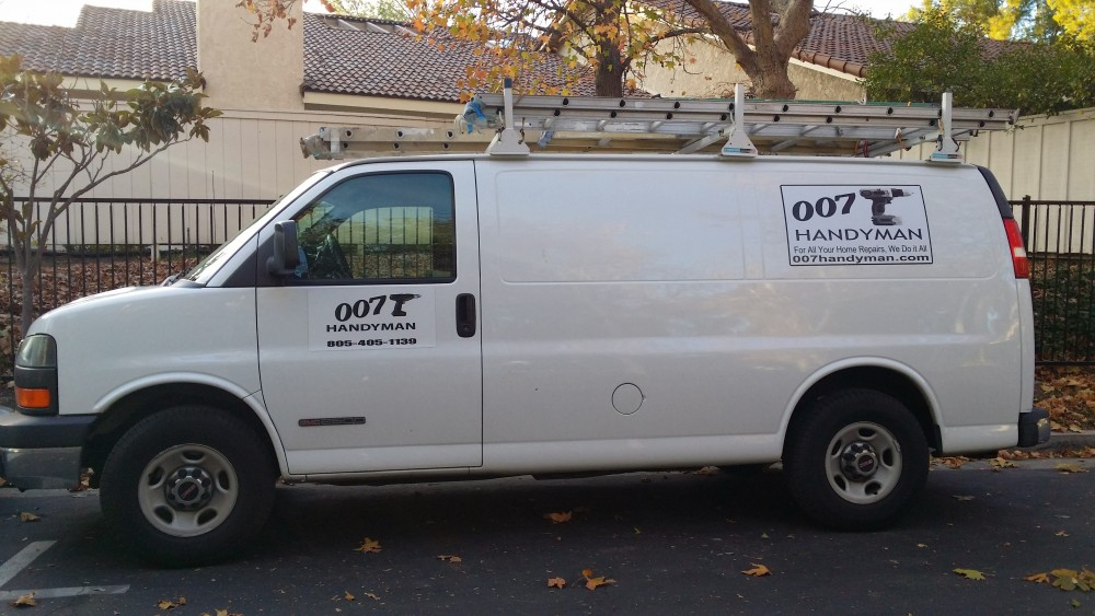 Our handyman work van